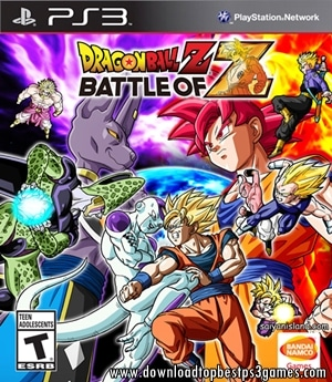 DRAGON BALL Z BATTLE OF Z GAME PS3