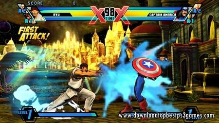 Marvel vs Capcom 3 ps3 download