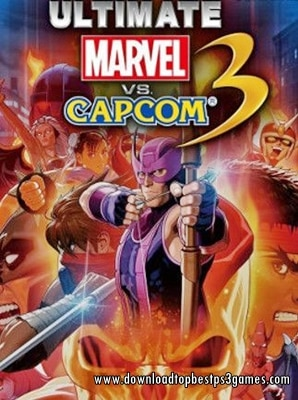 MARVEL VS CAPCOM 3 GAME PS3