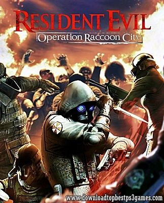 Resident Evil Operation Raccoon City Game XBOX 360