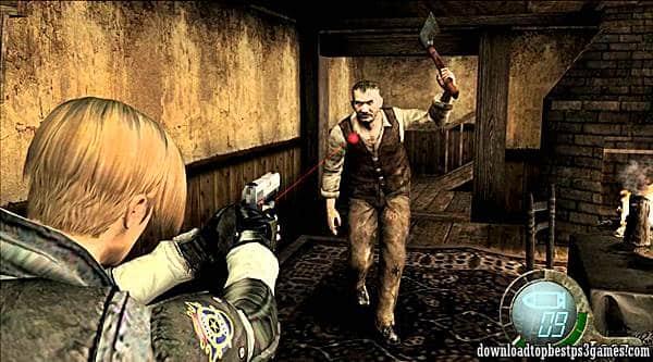 Resident Evil 4 ps3 iso