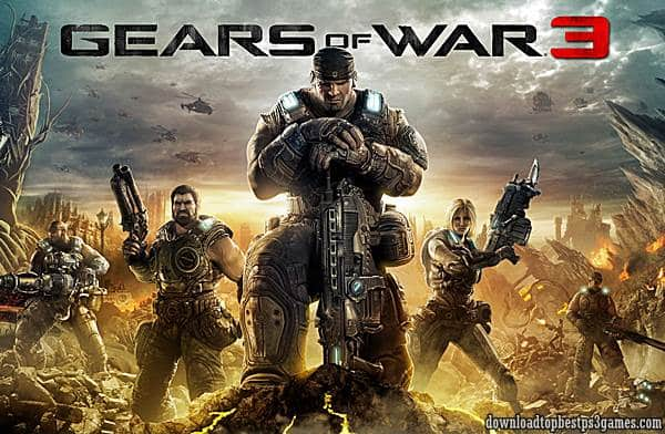 Gears of War 3 Game Xbox 360