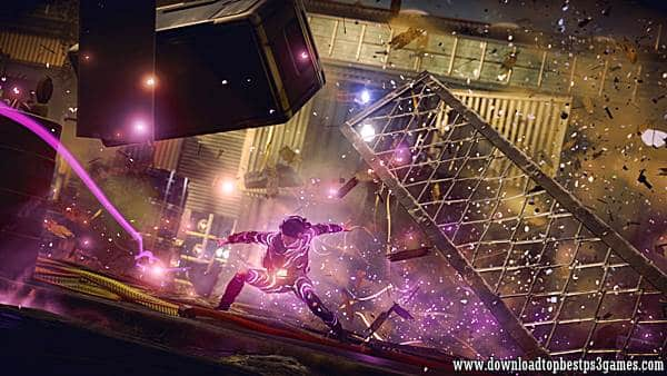 Infamous First Light PS4 ISO