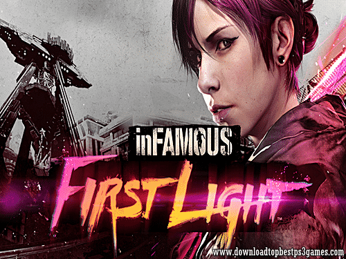 Infamous First Light Game PS4