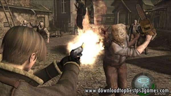 Resident Evil 4 PS3 PKG