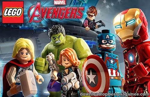 Lego Marvels Avengers Game PS3
