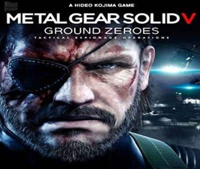 Metal Gear Solid V Ground Zeroes Game PS4