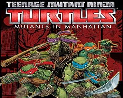 Teenage Mutant Ninja Turtles Mutants in Manhattan Game PS3