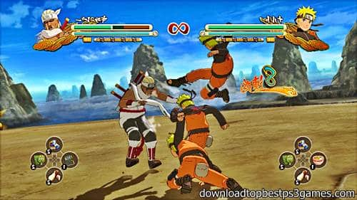 Naruto Shippuden Ultimate Ninja Storm 3 PS3 ISO and PKG Download