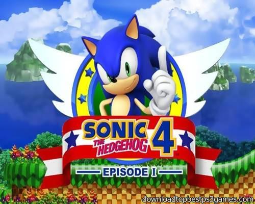 Sonic the Hedgehog 4 E1 Game PS3