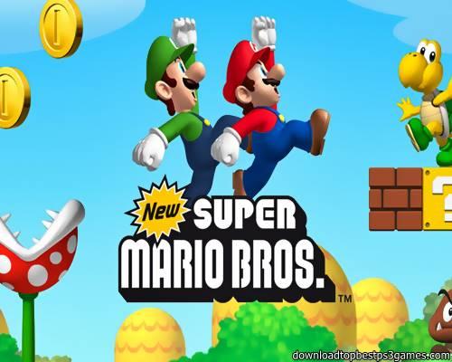 Super Mario Bros Game PS3
