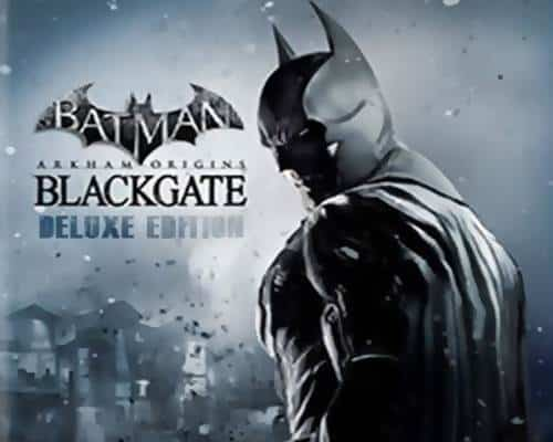 Batman Arkham Origins Blackgate Deluxe Edition Game PC