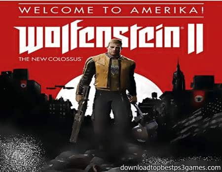 Wolfenstein 2 The New Colossus Game PC