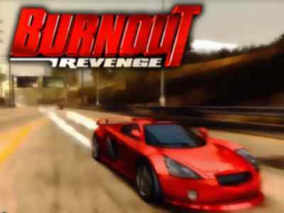 Burnout Revenge Game PS2