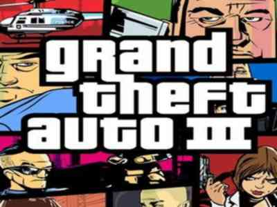 GTA 3 Game PS2