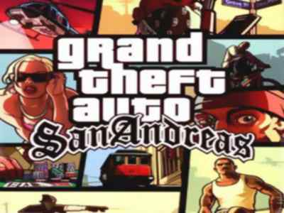 GTA San Andreas Game PS2