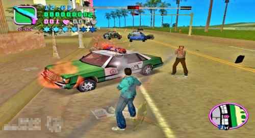 GTA Vice City PlayStation 2