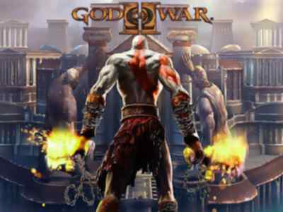 God of War 2 Game PS2