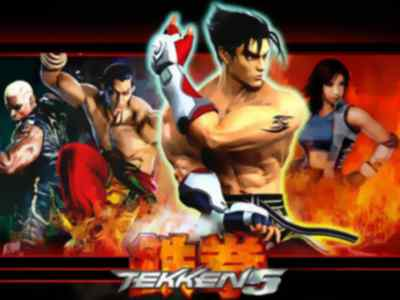 Tekken 5 Game PS2