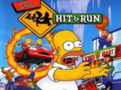 The Simpsons Hit and Run Game PS2