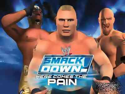 WWE SmackDown Here Comes the Pain Game PS2