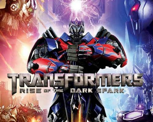 Transformers Rise of the Dark Spark Game PS4