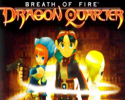 Breath of Fire Dragon Quarter Game PS2
