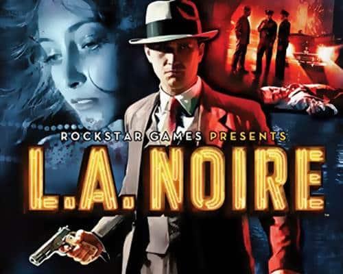 LA Noire Game Xbox 360