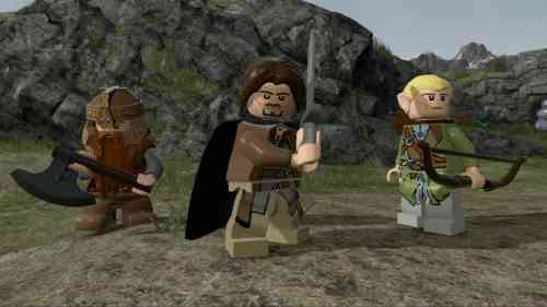 Lego The Lord of the Rings PS3 Download