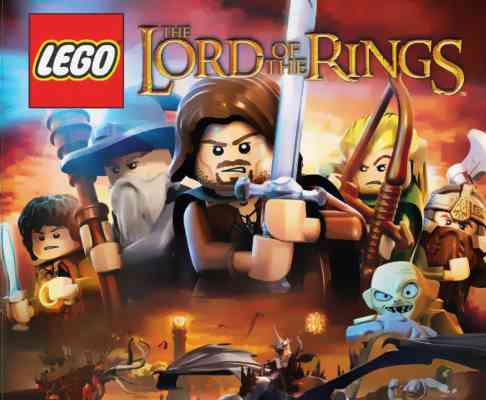 Lego The Lord of the Rings Game PS3