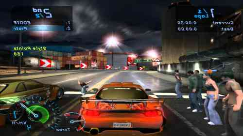 Need for Speed Underground PS2