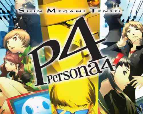 Shin Megami Tensei Persona 4 Game PS2