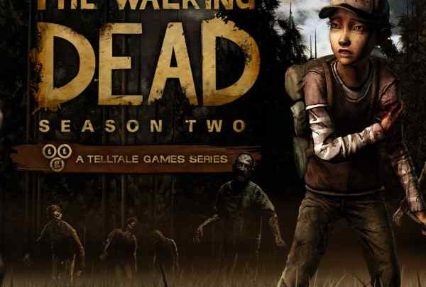 The Walking Dead Season Two Game Xbox 360