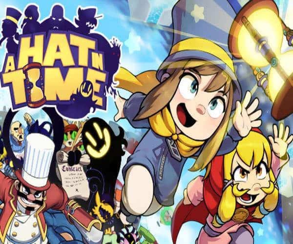 A Hat in Time Game PS4
