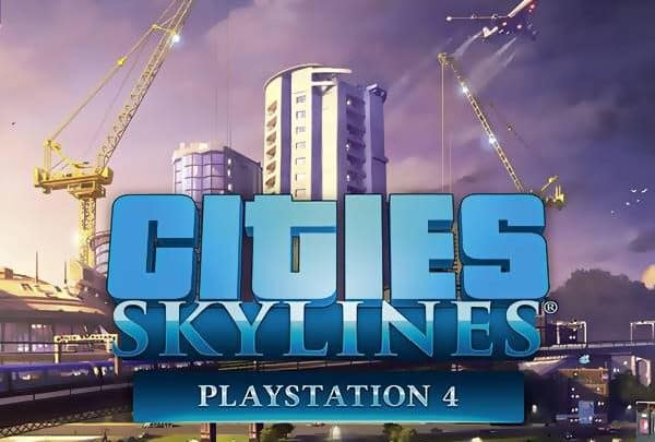 Cities Skylines Game PS4