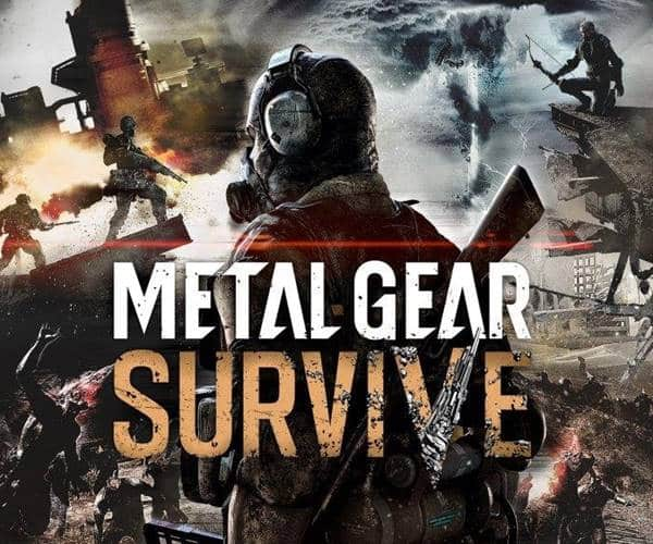 Metal Gear Survive Game PS4