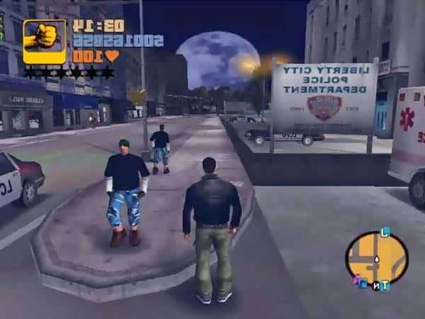 Grand Theft Auto 3 PS4