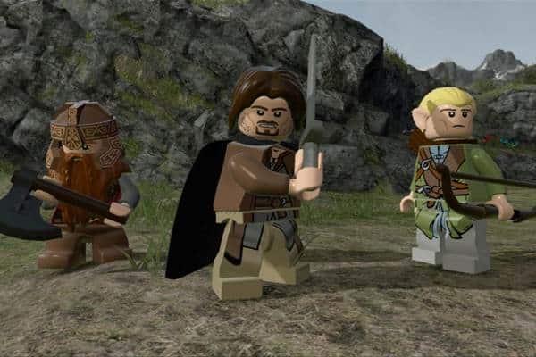 Lego The Hobbit PS3 Downlaod