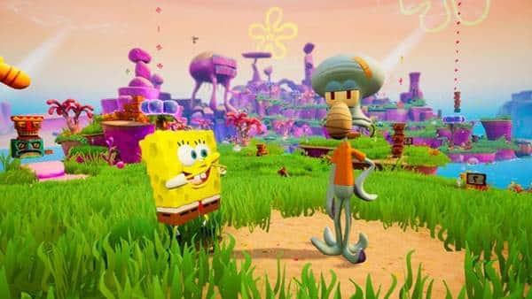 Spongebob Squarepants Battle for Bikini Bottom Rehydrated PlayStation4