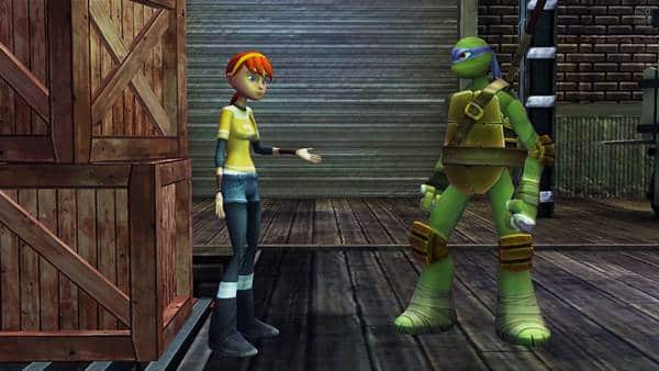 Teenage Mutant Ninja Turtles Danger of The Ooze PlayStation3