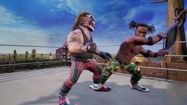 WWE 2K Battlegrounds PS4 Download